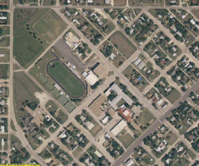 Schleicher County, TX aerial photography detail