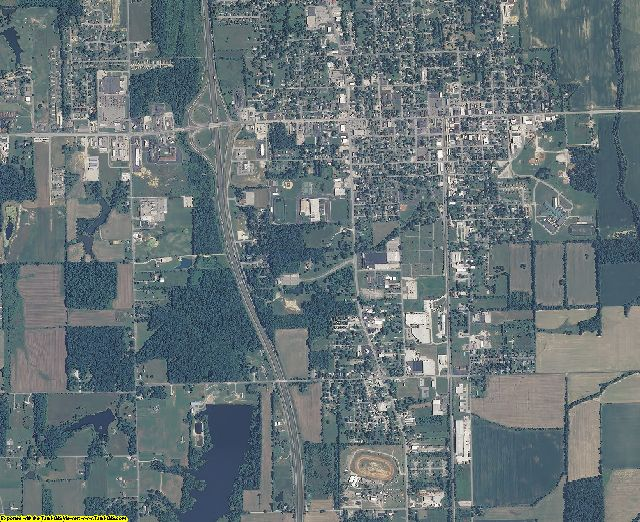 Scott County, Indiana aerial photography