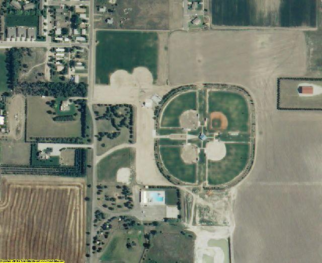 Scott County, KS aerial photography detail