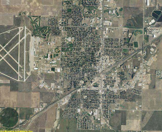 Seward County, Kansas aerial photography
