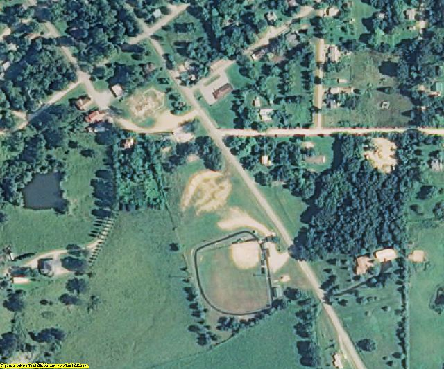 Shannon County, MO aerial photography detail