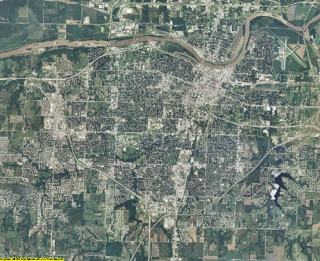Shawnee County, Kansas aerial photography