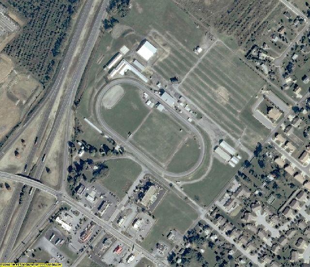 Shenandoah County, VA aerial photography detail