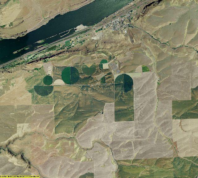 Sherman County, Oregon aerial photography
