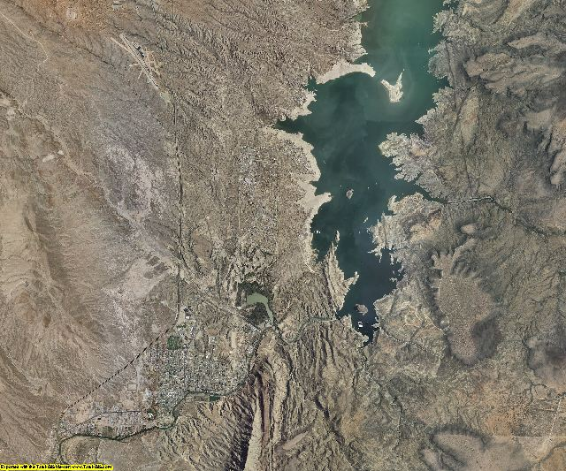 Sierra County, New Mexico aerial photography