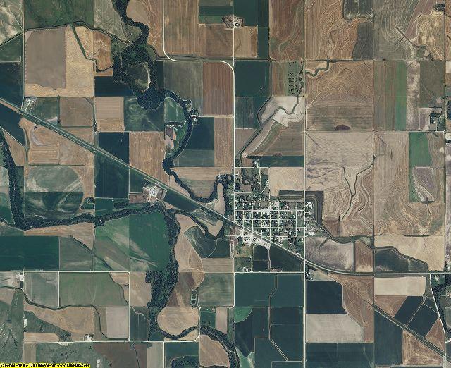 Smith County, Kansas aerial photography