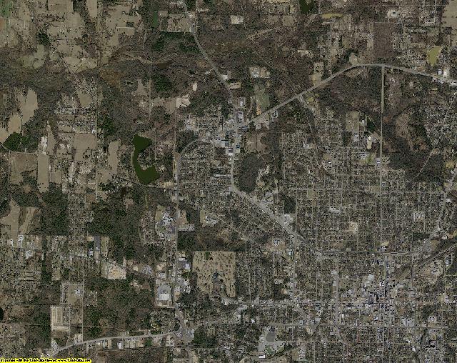 Smith County, Texas aerial photography
