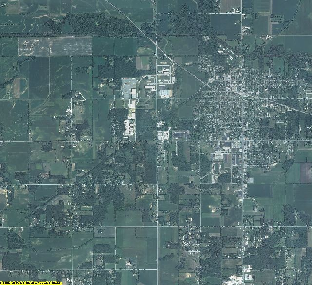Starke County, Indiana aerial photography