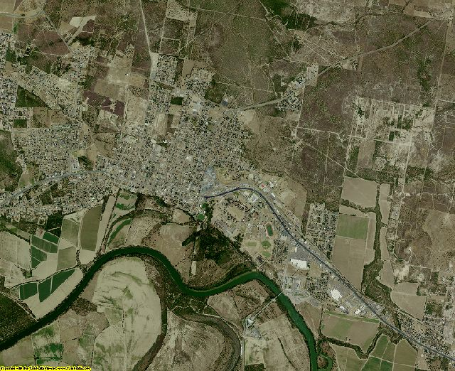 Starr County, Texas aerial photography