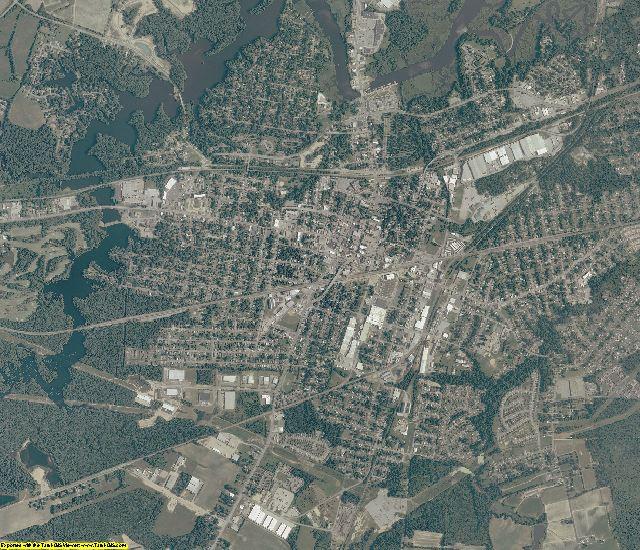 Suffolk County, Virginia aerial photography