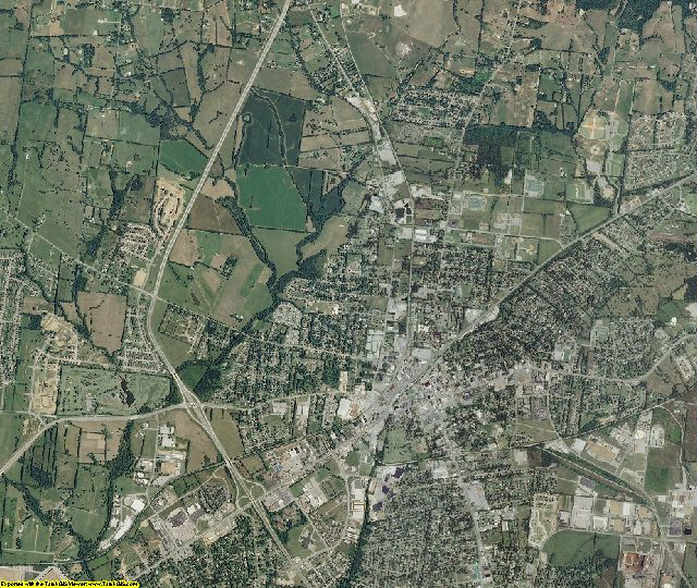 Sumner County, Tennessee aerial photography