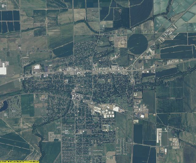 Sunflower County, Mississippi aerial photography