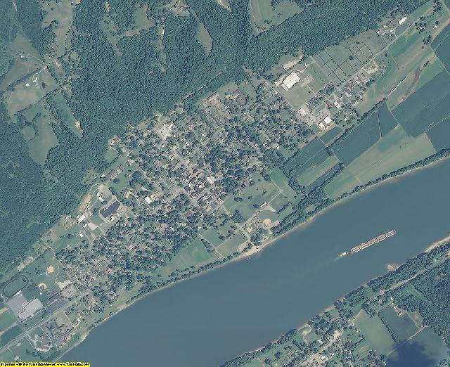 Switzerland County, Indiana aerial photography