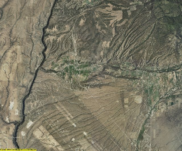Taos County, New Mexico aerial photography