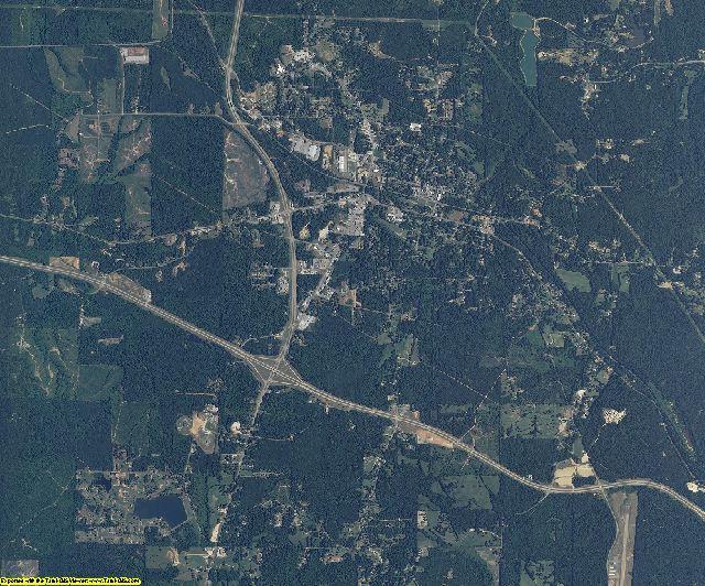 Tishomingo County, Mississippi aerial photography
