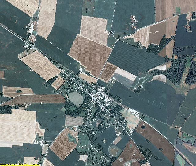 Todd County, Kentucky aerial photography