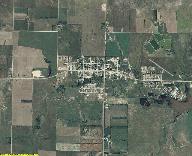 Todd County, South Dakota aerial photography