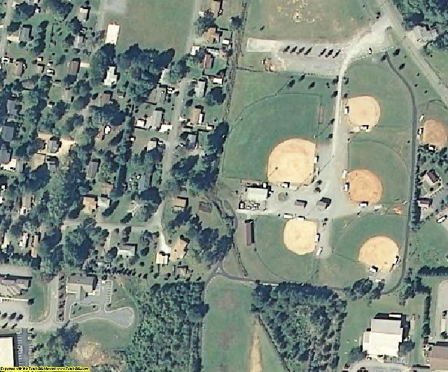 Transylvania County, NC aerial photography detail