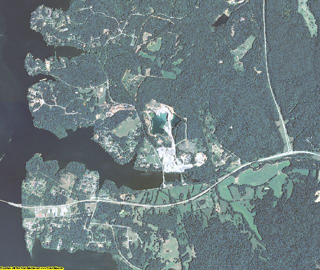 Trigg County, Kentucky aerial photography