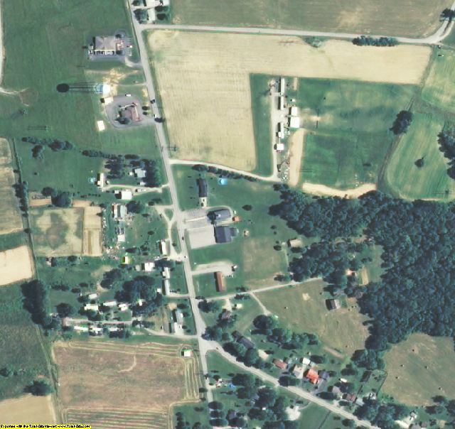 Trimble County, KY aerial photography detail