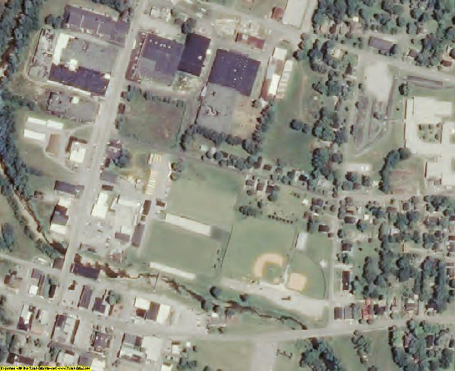 Trousdale County, TN aerial photography detail