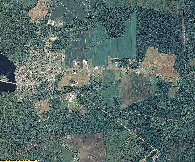 Tyrrell County, North Carolina aerial photography