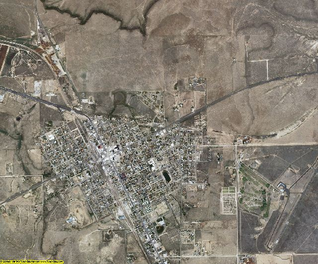 Union County, New Mexico aerial photography
