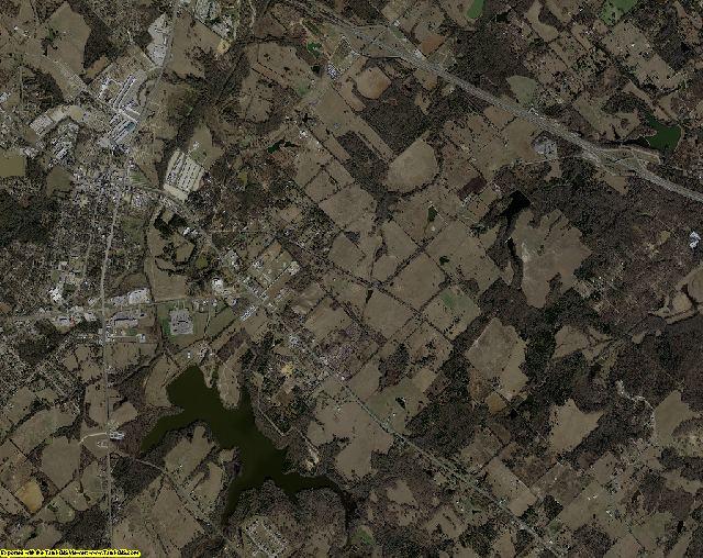 Van Zandt County, Texas aerial photography