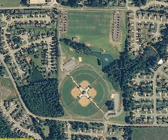 Wake County, NC aerial photography detail