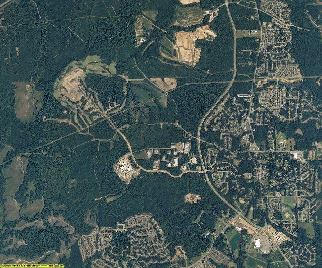 Wake County, North Carolina aerial photography