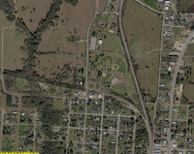Waller County, TX aerial photography detail