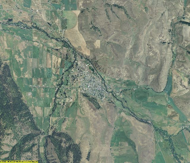Wallowa County, Oregon aerial photography