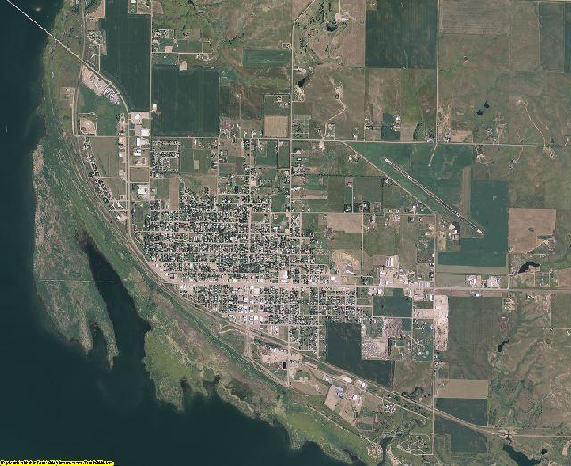 Walworth County, South Dakota aerial photography