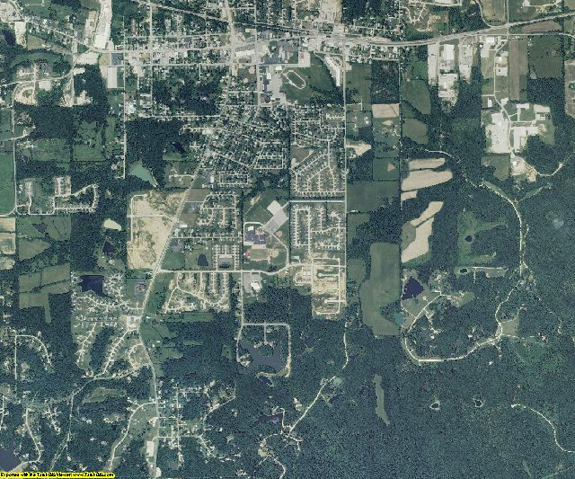 Warren County, Missouri aerial photography