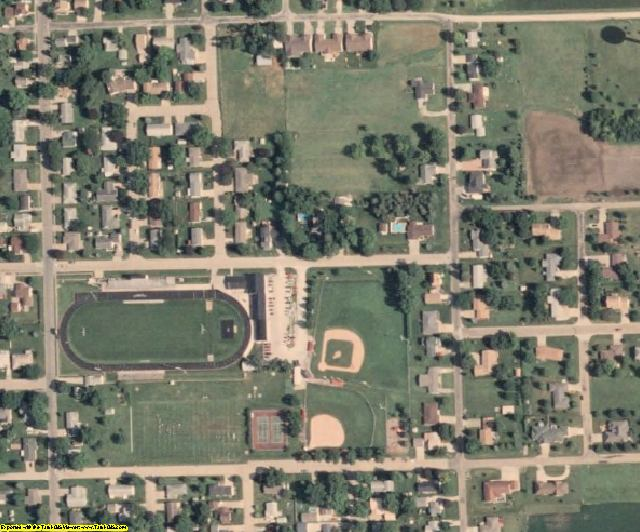 Washington County, IA aerial photography detail