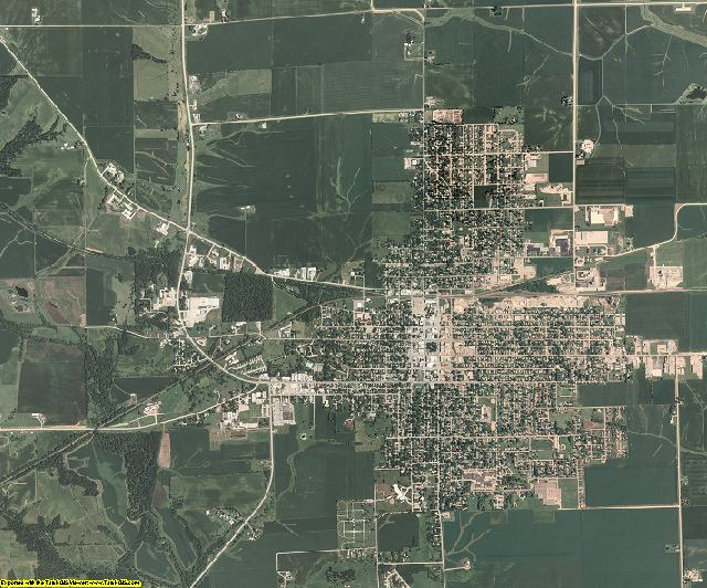 Washington County, Iowa aerial photography