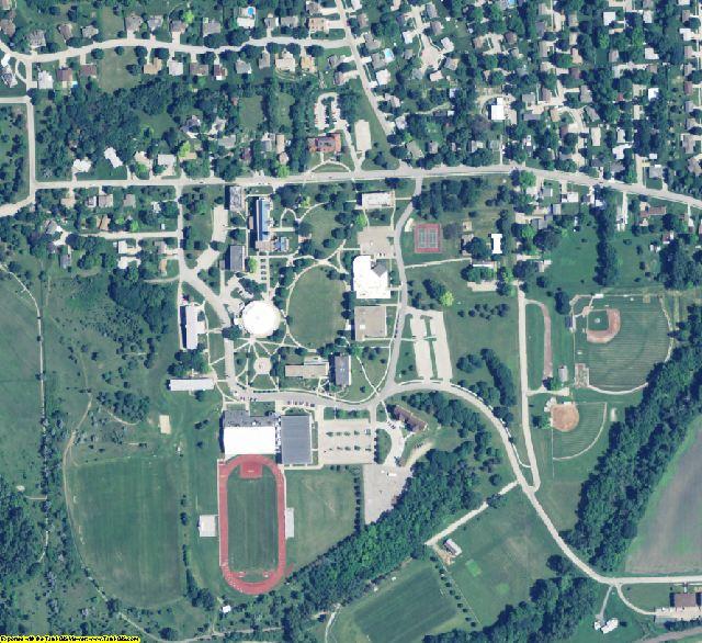 Washington County, NE aerial photography detail