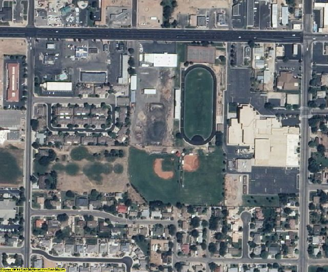 Washington County, UT aerial photography detail