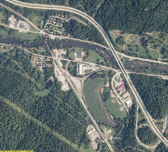Washington County, Vermont aerial photography