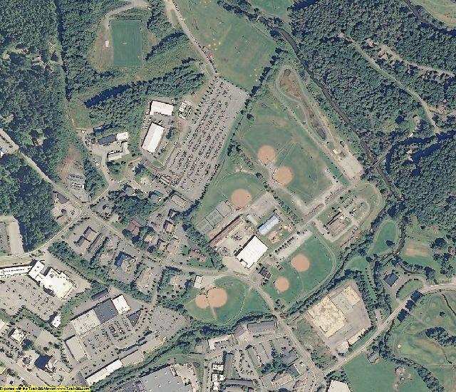 Watauga County, NC aerial photography detail