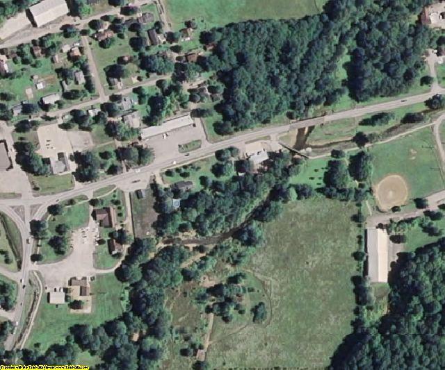 Wayne County, MO aerial photography detail