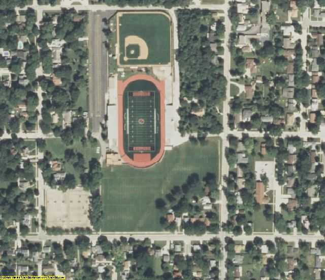 IA aerial photography detail