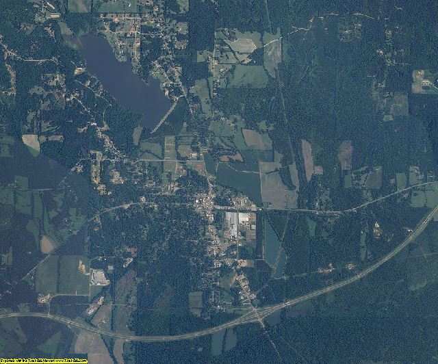 Webster County, Mississippi aerial photography