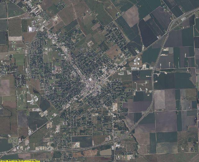 Wharton County, Texas aerial photography