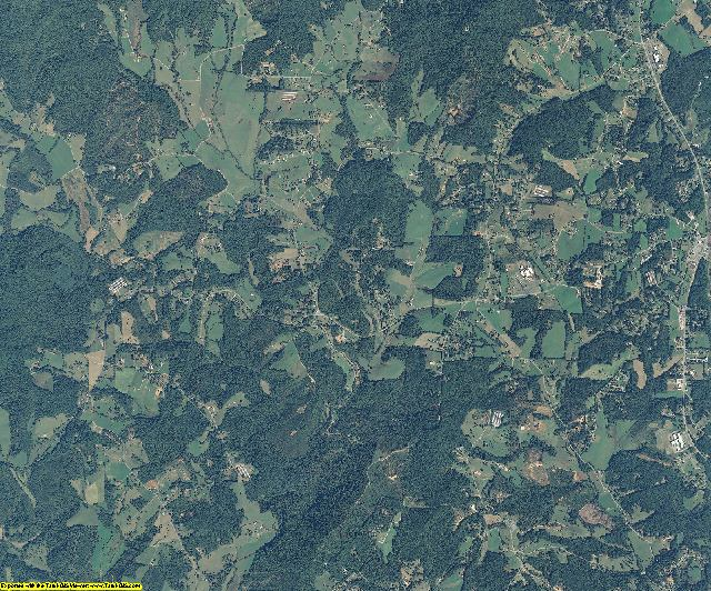 Wilkes County, North Carolina aerial photography