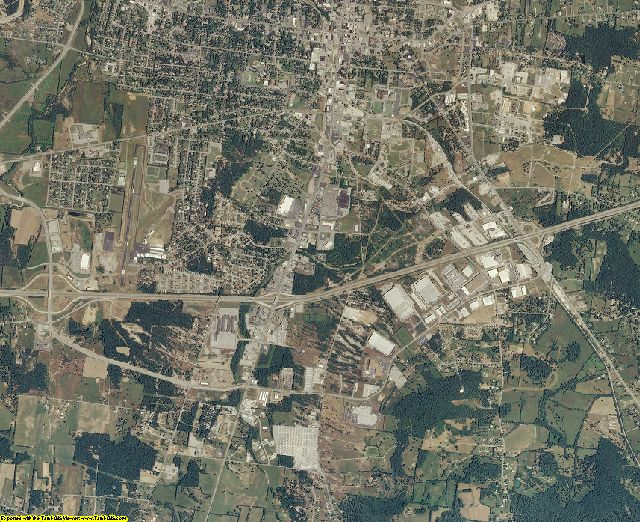 Wilson County, Tennessee aerial photography