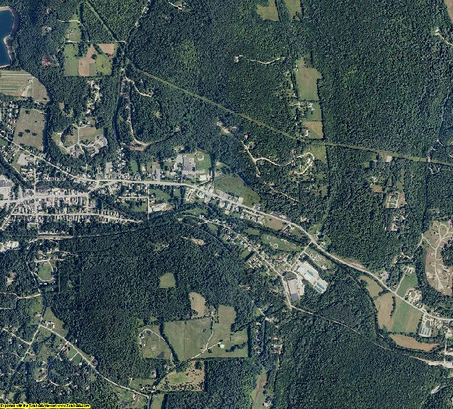 Windsor County, Vermont aerial photography