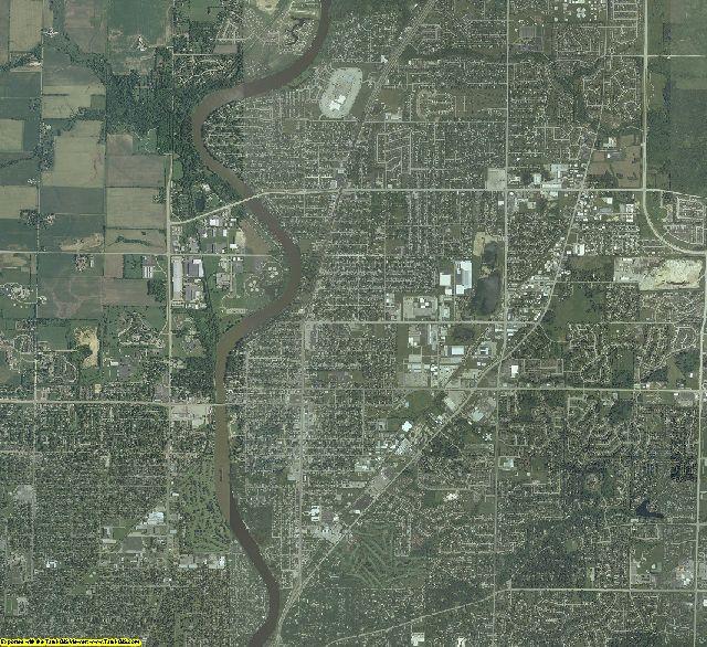 Winnebago County, Illinois aerial photography