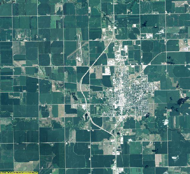 York County, Nebraska aerial photography