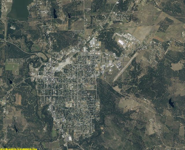 Young County, Texas aerial photography